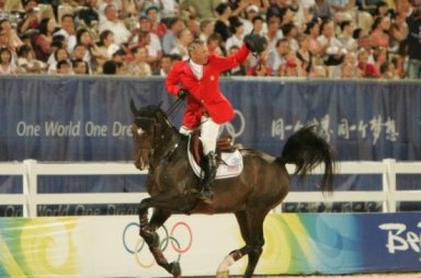 Will Simpson, Audrey's mentor and boss, helped clinch team gold at the 2008 Beijing Olympics!